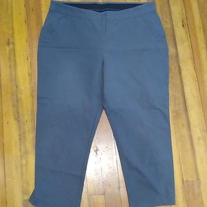 Vera Wang stretch Capri pants, EUC